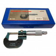 Micrometru mecanic cu contor de 0-25mm si precizie 0,01mm VERKE V86005