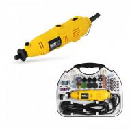 Mini freza electrica 135W 220V 188 piese MULTI-GRIN135.4 10060243 MSW
