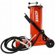 Pompa de gresat actionata la picior recipient 6L VERKE V86131