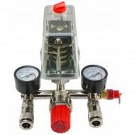 Presostat compresor aer + supape 25A 400V 3-8 bari VERKE V81209