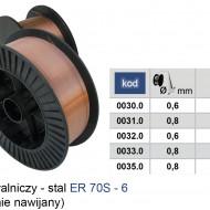 Sarma sudura ER 70S-6 0.6mm 5Kg 200mm ADLER MA0032.0