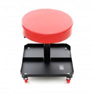 Scaun service auto REGLABIL roti 360grade sertar scule KraftDele KD376