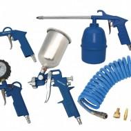 Set aer comprimat, pneumatic pistol, vopsit 5 piese ADLER AD-24Z