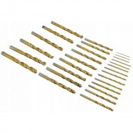 Set burghie metal in cutie metalica 29 de elemente 12.7mm VERKE V05071