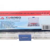 Set ventile clima/aer conditionat 41 piese TA1410 Tagred