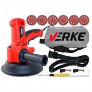 Slefuitor pentru pereti cu sistem aspirare 1350W 180mm V08201 Verke