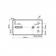 Troliu Manual 1133kg 10m 4.8 mm V87252 VERKE