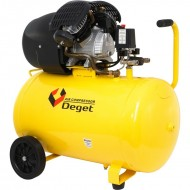 Compresor de aer industrial 100L 2.8kW 2cil. ZBV30-100 DEGET V81153