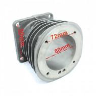Cilindrul pentru compresor, cu diametrul de 80 mm 2080 B-CIL.80.2080