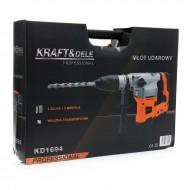 Ciocan rotopercutor cu Impact 2800W SDS-MAX KraftDele KD1694 TBC