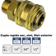 "Cupla rapida aer, alama, filet exterior 3/8"" ADLER MA3025.1"