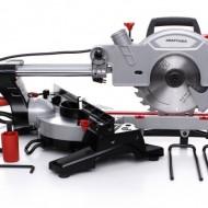 Fierastrau circular pendula lemn 1800W laser KraftDele KD596