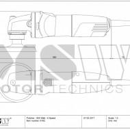 Masina de polisat, lustruit auto 800W MSW-PM 800 MSW Germania