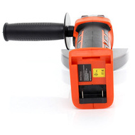 Polizor unghiular (flex) KRAFTDELE X-SERIES KD1758, 18V, 8000 RPM, 115 mm + Acumulator 4 Amperi
