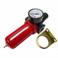 """Reductor cu filtru de apa si ulei pneumatice 1/4"""" VERKE V81231"""