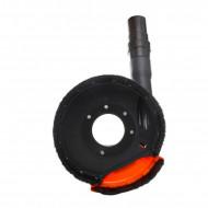 Sistem de aspirare a prafului pentru polizor unghiular 180 / 230mm KD1976 Kraftdele