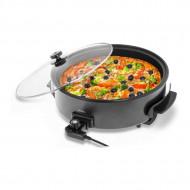 Tigaie electrica pentru pizza cu acoperire de teflon 40cm 1400W BCPP 40-9 Bredeco 10080020