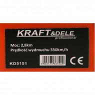 Aspirator si suflanta de frunze 2 in 1 2.8CP benzina KD5151