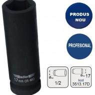 "Cheie tubulara de IMPACT 1/2"" ADLER AD-3513.17D 17mm varianta lunga"