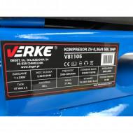 Compresor de aer industrial 50L 2.8kW 2cil. ZV2047/50LA VERKE V81105