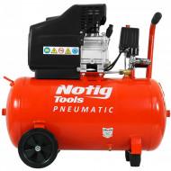 Compresor de aer industrial 50litri, 1.5kW, 220V 250L/min N3421 NOTIG