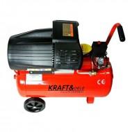Compresor de aer industrial 50litri, 2.2kW, 2 CILI. KraftDele KD1471
