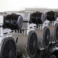 Compresor de aer Profesional fara ulei 8 bari 520l/min 150L 4 compresoare B-SLSG-150L Barracuda