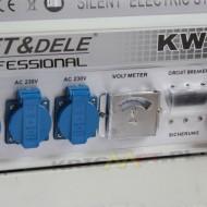Generator benzina 2500W 12/230/380V KraftDele KD101