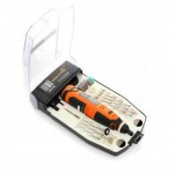 Mini freza electrica 12V 55 piese 25000 rpm KraftDele KD1669