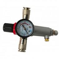 Regulator de presiune pentru compresor 3/8 inch VERKE V81220