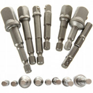 "Set adaptoare autofiletanta 7 elemente 1/4""-3/8""-1/2 "" KD1559 Kraftdele"