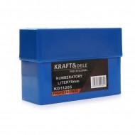 Trusa de poansoane cu litere A-Z dimensiune 8mm KD11205 KraftDele