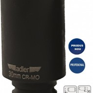 "Cheie tubulara de IMPACT 1/2"" ADLER AD-3513.30D 30mm varianta lunga"