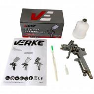 Pistol de vopsit pneumatic 0.8 mm pahar 125ml H2000P V81301 VERKE