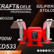 Polizor Dublu de Banc 1700W 200mm KraftDele KD533