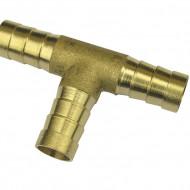 Ramificatie tip T din alama pentru furtun 10mm MA0135.76
