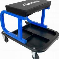 Scaun service auto cu sertar scule roti 360 grade 136 kg B4911