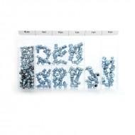 Set capete metalice pentru gresare 110 elemente KraftDele KD10507