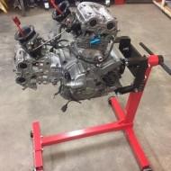 Stand pentru motor și cutie de viteze 450 kg VERKE V84218