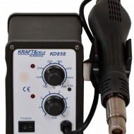Statie de lipit cu aer cald 4 duze 700W KraftDele KD858