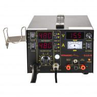 Statie de lipit cu aer cald 4 in 1 75+600 W 480C S-LS-13 Basic Stamos 10021022