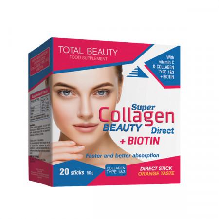 Super Collagen Beauty Direct, kolagen direkt (20 kesica)