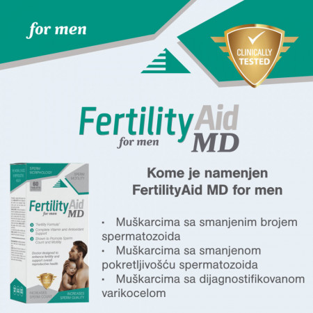 Fertility Aid MD za muškarce