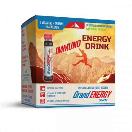 IMUNO energetski napitak Grand energy shot 25ml - PAKOVANJE 10 KOM