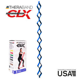 Thera Band CLX Loop Blue, fitnes traka