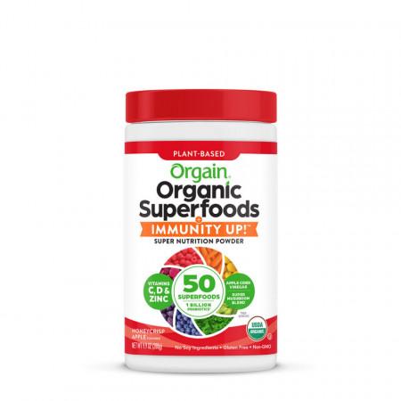 Orgain Organic Superfoods + IMMUNITY UP!