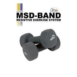 MSD neoprene dumbbells, hand weights (2 pieces)