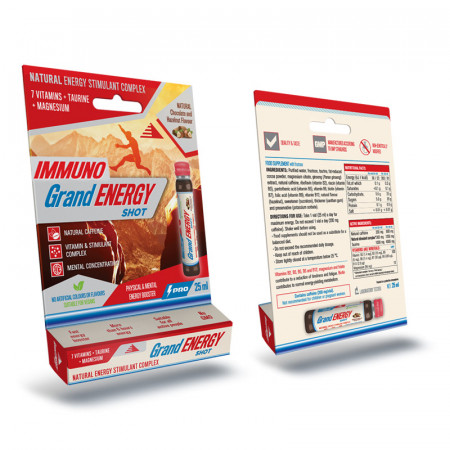 Imunno Grand energy shot 25 ml, za podizanje imuniteta