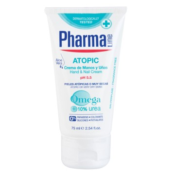 Slika Pharmaline Atopic pH 5.5 krema za ruke i nokte 75 ml