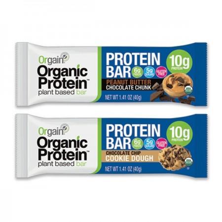 Orgain Organic Proteinska Pločica, 40g